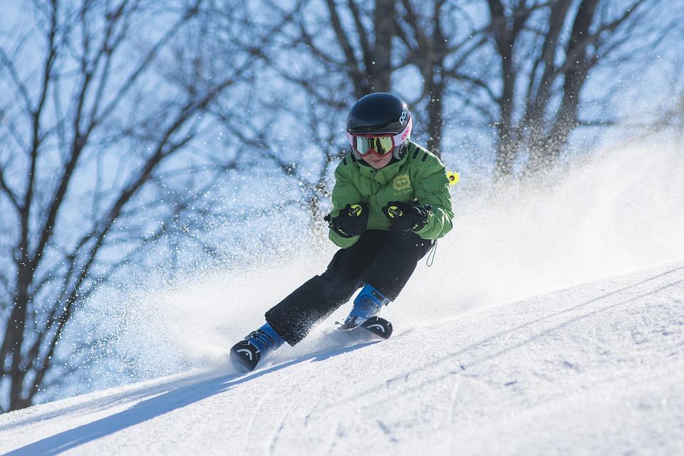 スキー少年
